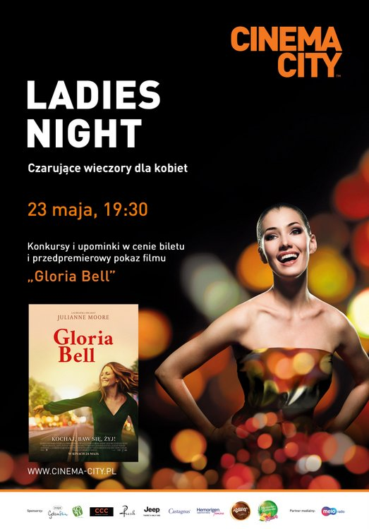 Ladies Night, Cinema City, maj 2019, Gloria Bell