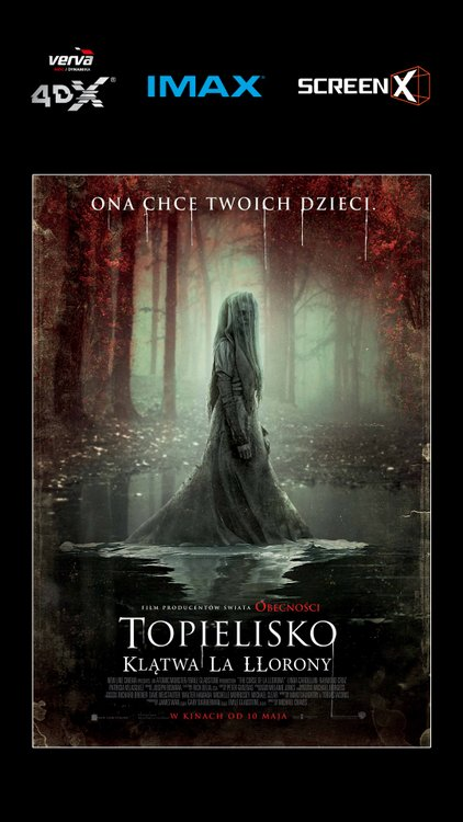 Topielisko: Klątwa LLorony, Cinema City